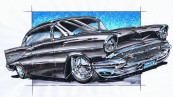 1957 Chevy Belair custom build. after