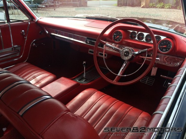 1963 Galaxie Right Hand Drive conversion  after