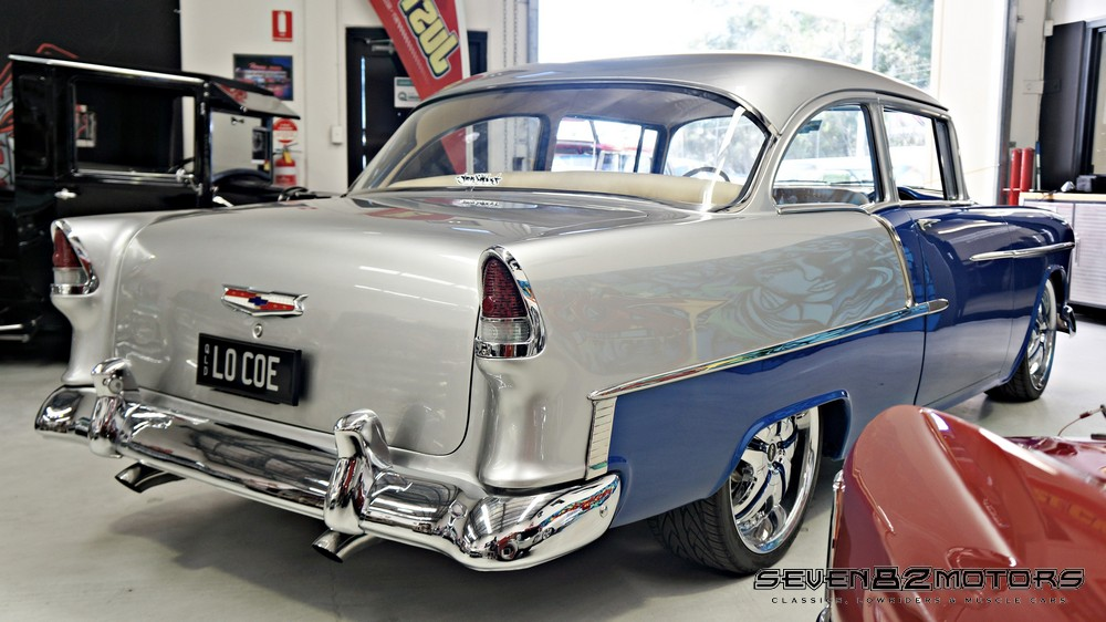Sold 1955 Chevy Custom 210