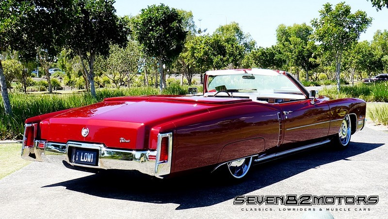 1971 Cadillac ElDorado convertible build