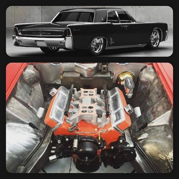 1961 Lincoln build (1)