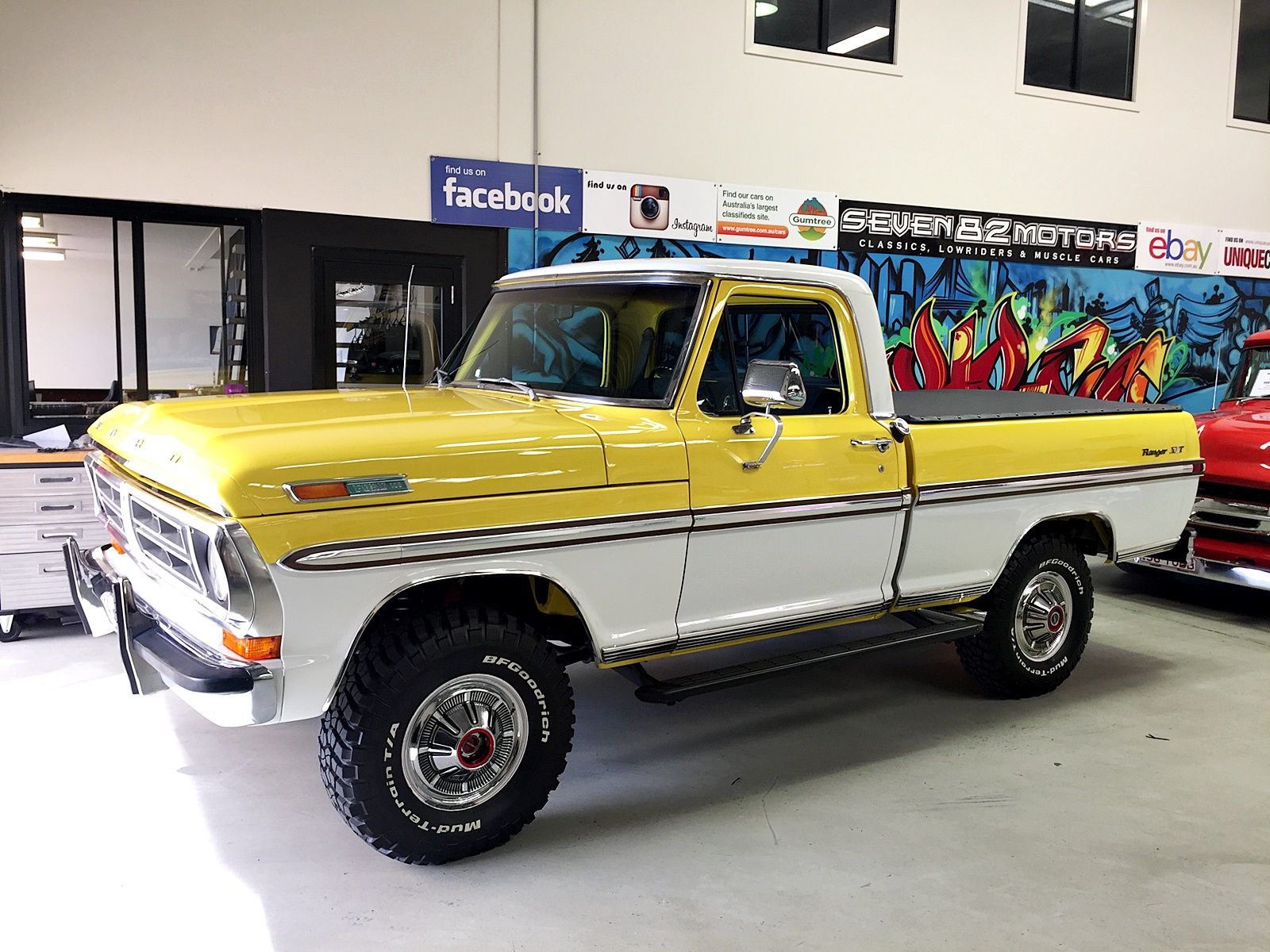 1972 F100 RHD Conversion - SEVEN82MOTORS