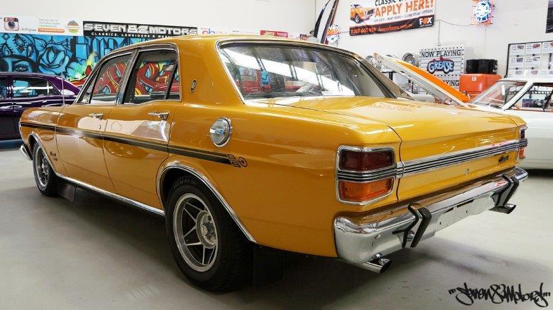 Sold 1971 Xy K Code Gs Fairmont Seven82motors