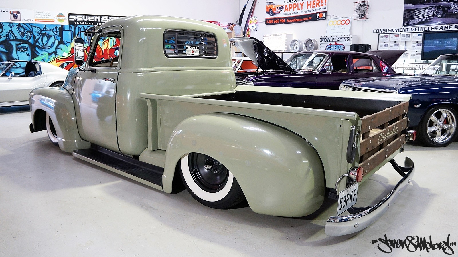 SOLD! 1953 Chevy 3100 Pick Up - SEVEN82MOTORS