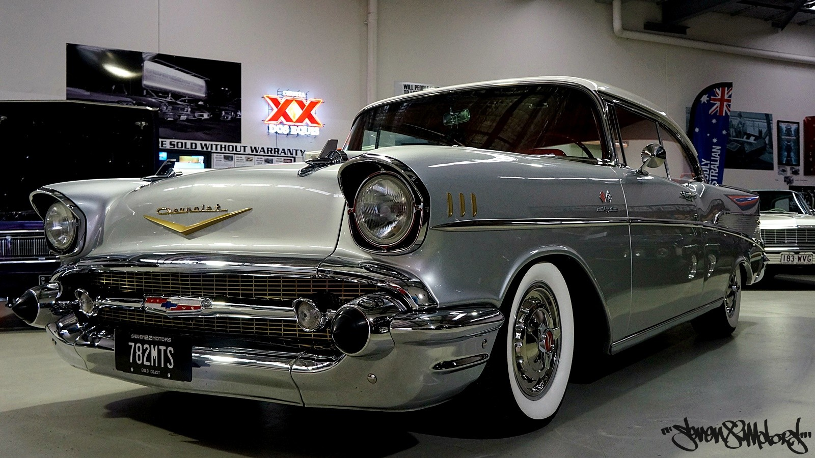 Sold 1957 Chevy Belair Seven82motors Bel Air 4 Door It Is The Responsibility Of Buyer To Have Thoroughly Inspected Vehicle And Satisfied Himself Or Herself As Condition Value