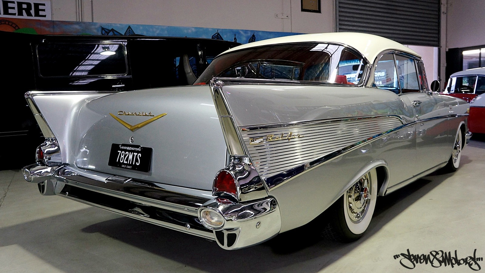 Seven82motors 1957 Chevy Belair Custom Build Michaelieclark Bel Air Convertible Lowrider It Is The Responsibility Of Buyer To Have Thoroughly Inspected Vehicle And