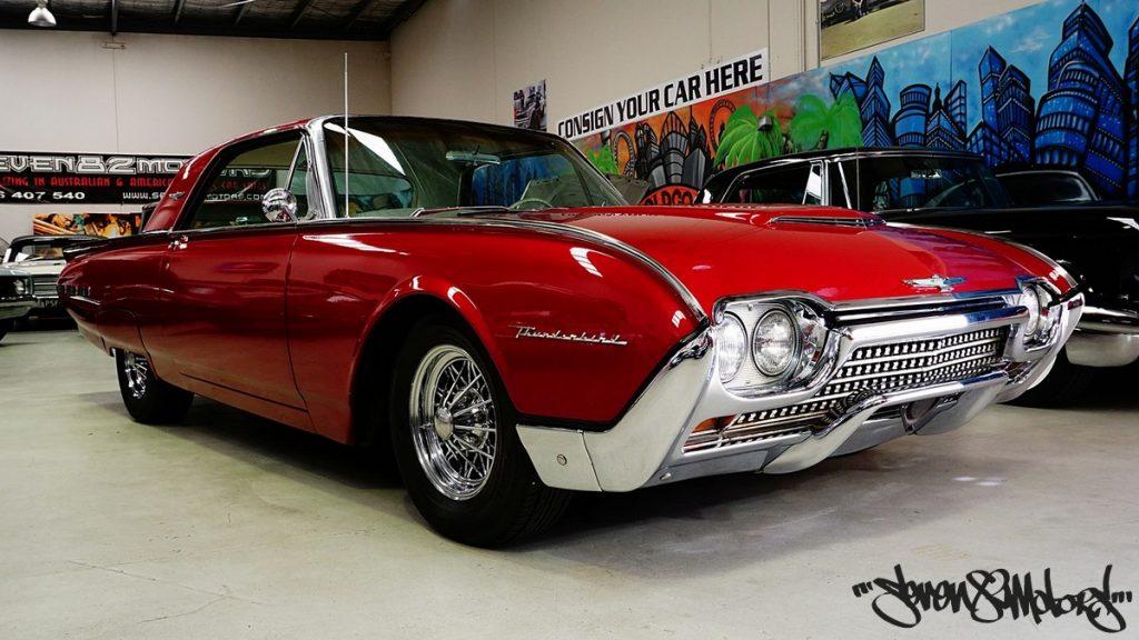 Sold 1962 Ford M Code Thunderbird Seven82motors