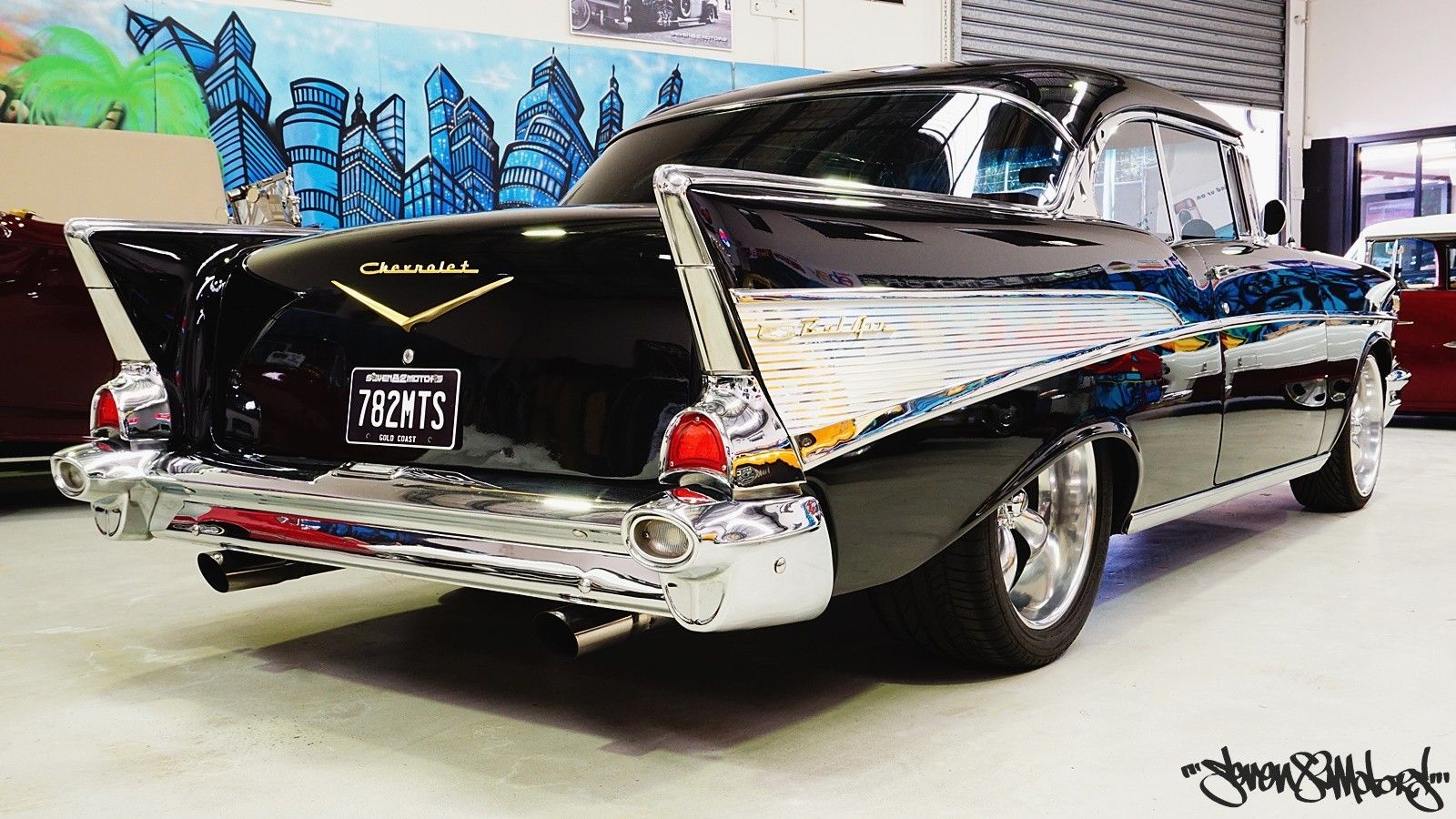 Sold 1957 Chevy Belair Sports Coupe For Sale Seven82motors Bel Air Front Suspension It Is The Responsibility Of Buyer To Have Thoroughly Inspected Vehicle And Satisfied Himself Or Herself As Condition Value