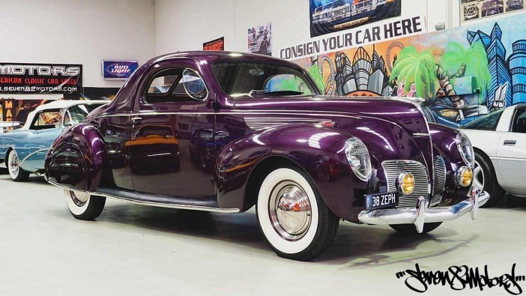 1938 Lincoln Zephyr Seven82motors