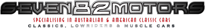 Seven 82 Motors - Specialising in Australian & American Classic Cars