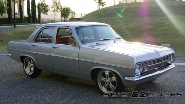 1967 HR Holden with V8 conversion after