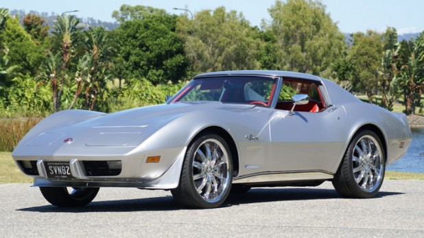 1975 Chevy Corvette after