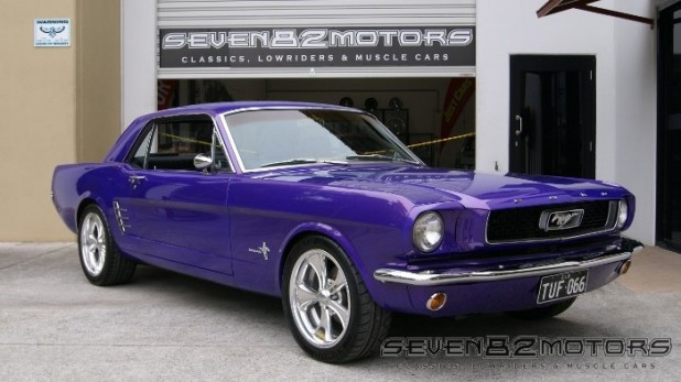 1966 Ford Mustang Coupe after