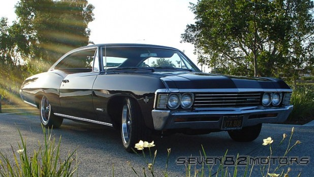 1967 chevy ss impala fastback seven82motors. Black Bedroom Furniture Sets. Home Design Ideas