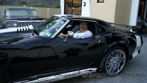 1976 Chevy Corvette T-Top after