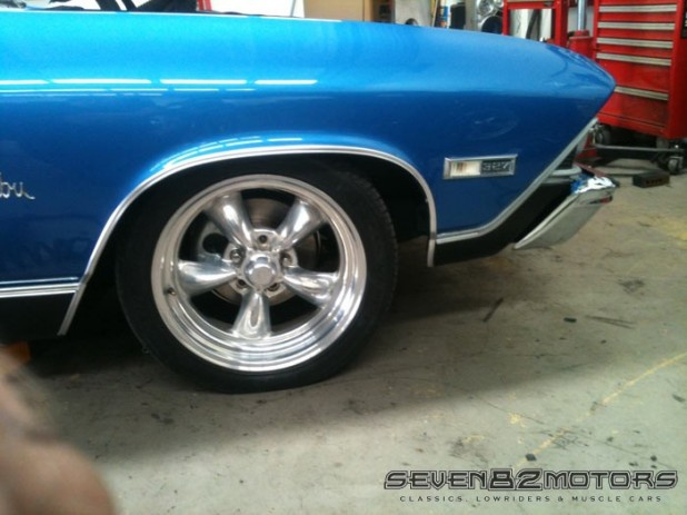 1969 Chevy Chevelle after
