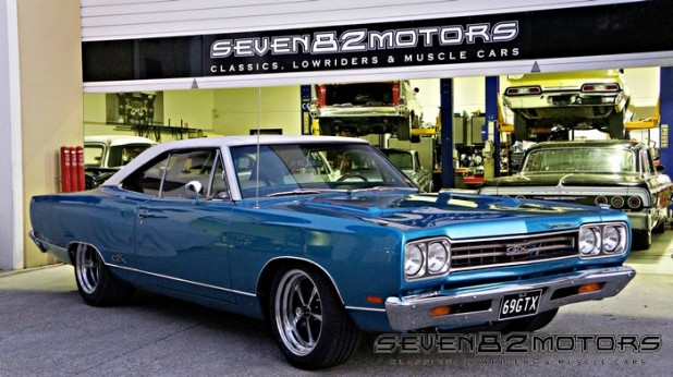 1969 440 Plymouth GTX custom work after