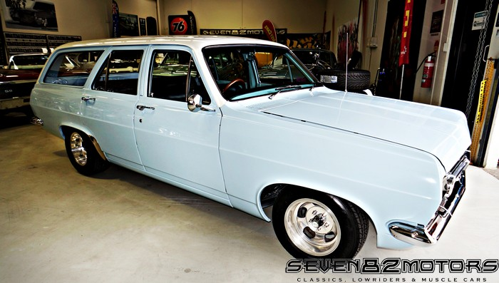 The First Car >> 1967 HR Holden Wagon build. - SEVEN82MOTORS