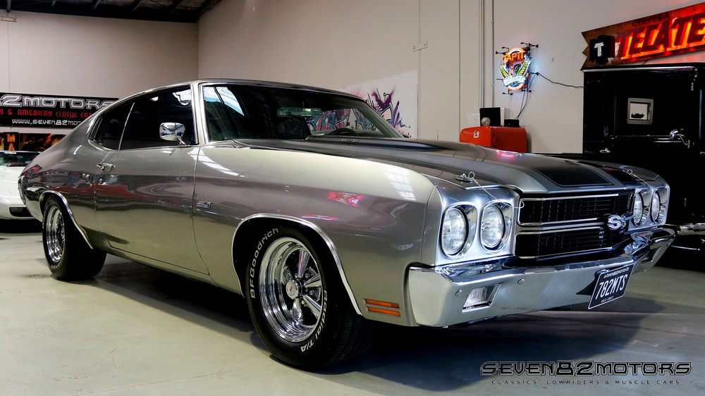 SOLD 1970 BIG BLOCK CHEVROLET CHEVELLE