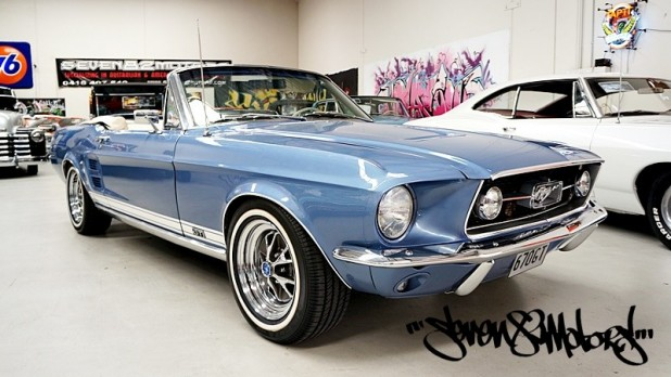 1967 ford gt mustang convertible for sale. Black Bedroom Furniture Sets. Home Design Ideas