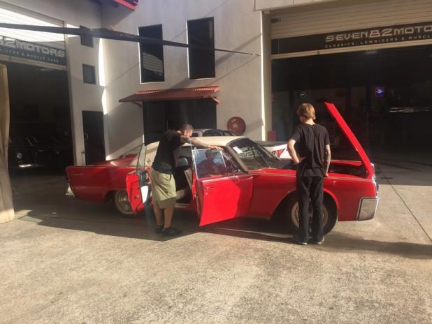 1961 Lincoln build (2)