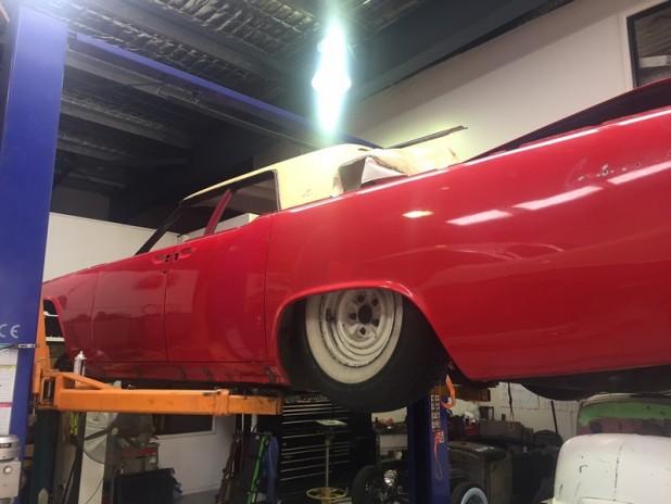 1961 Lincoln build (9)