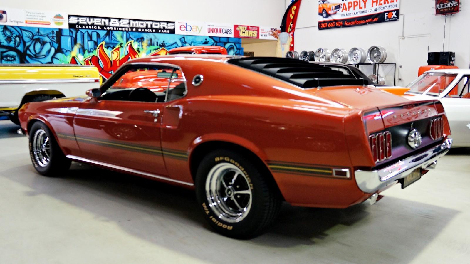 sold 1969 ford mach 1 mustang seven82motors. Black Bedroom Furniture Sets. Home Design Ideas