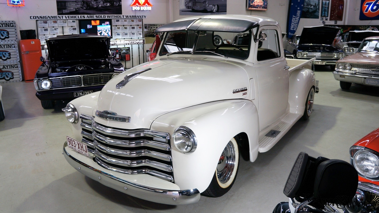 sold 1950 chevy 3100 pick up for sale seven82motors. Black Bedroom Furniture Sets. Home Design Ideas