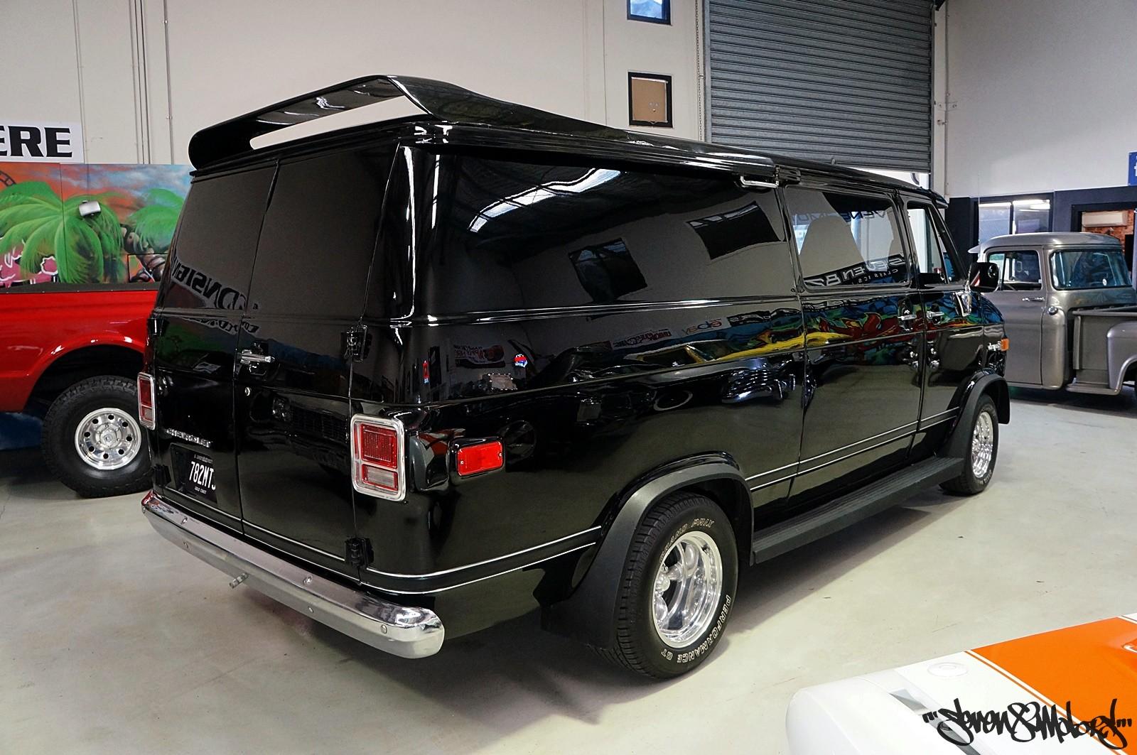 New Chevy Van Design