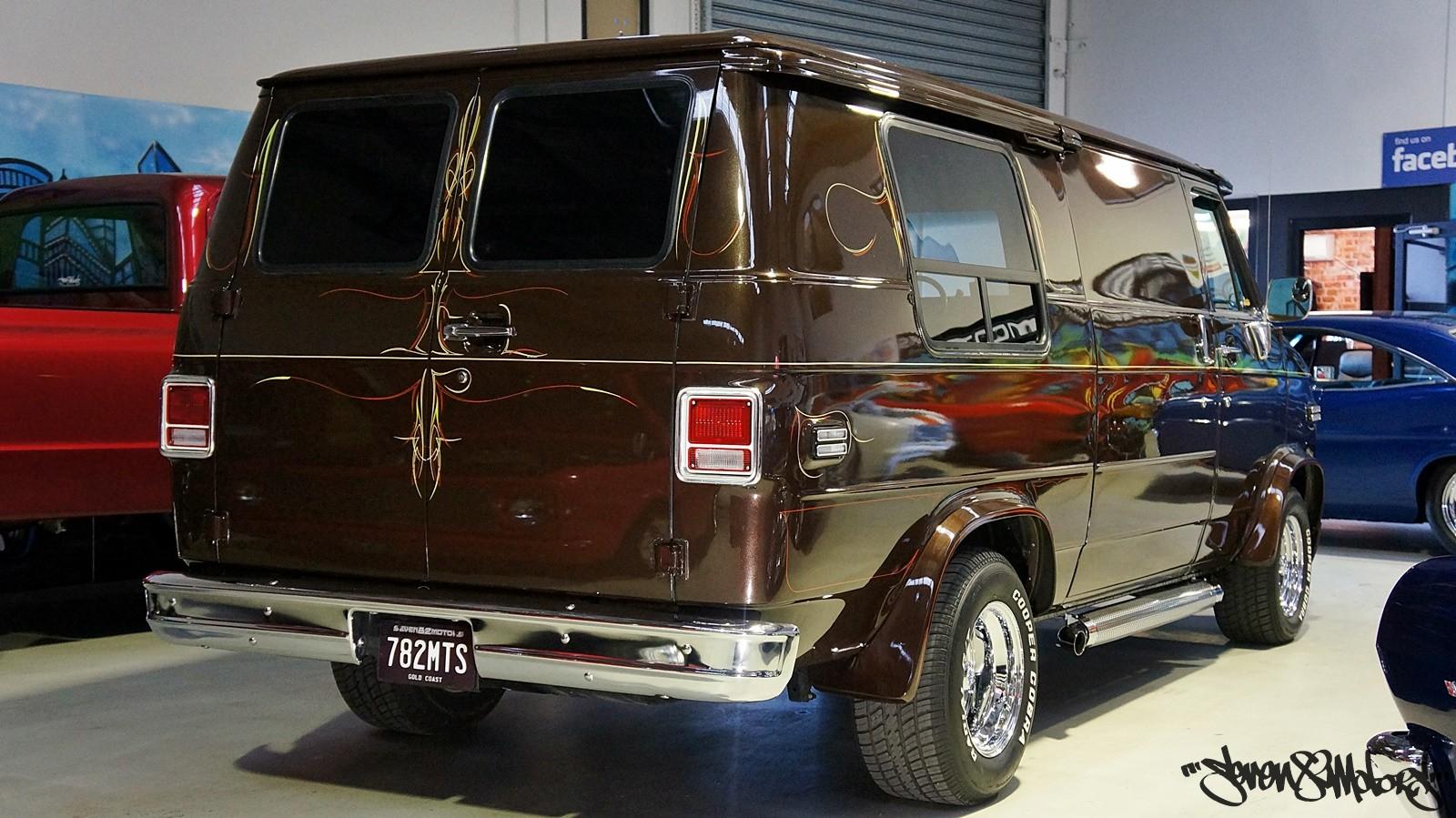 sold 1984 chevy g20 van seven82motors. Black Bedroom Furniture Sets. Home Design Ideas