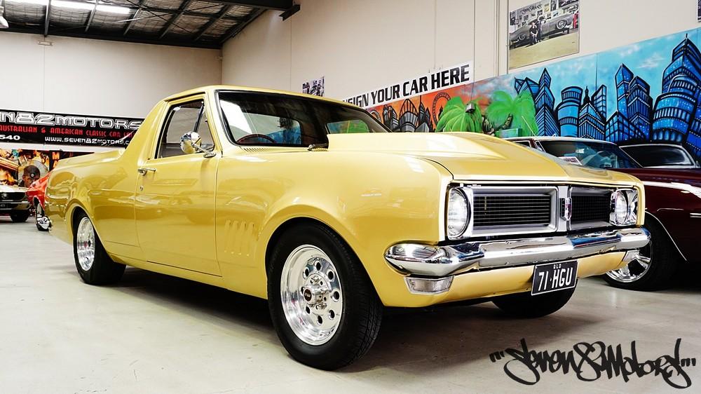 Sold 1971 Holden Hg Ute Seven82motors
