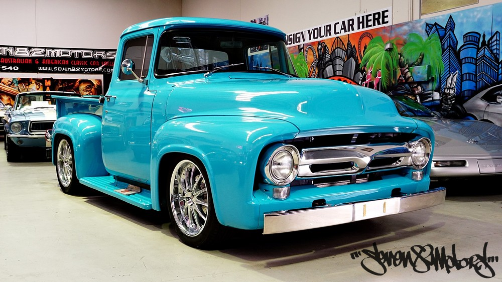 SOLD! 1956 F100 Ford Pickup - SEVEN82MOTORS