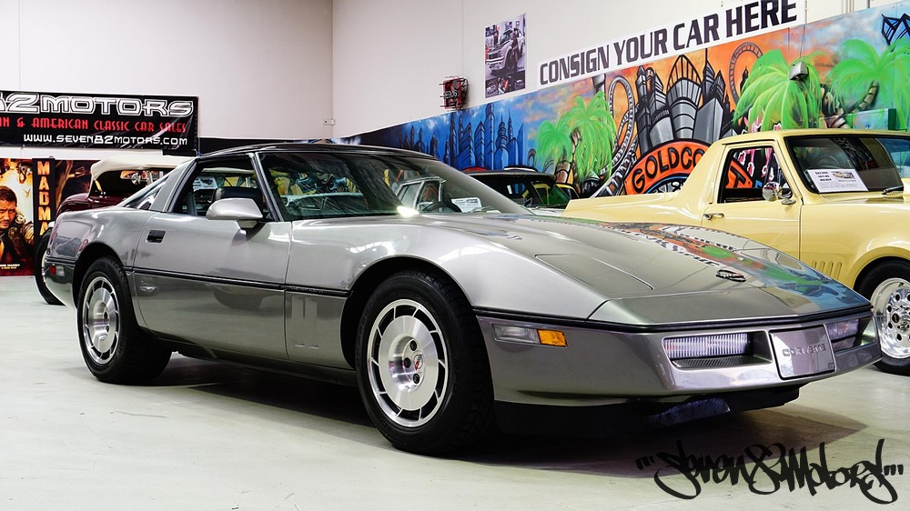 SOLD! 1986 c4 Chevy Corvette Coupe - SEVEN82MOTORS