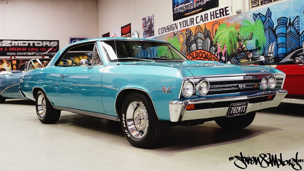 SOLD! 1967 Chevy big block SS Chevelle for sale - SEVEN82MOTORS