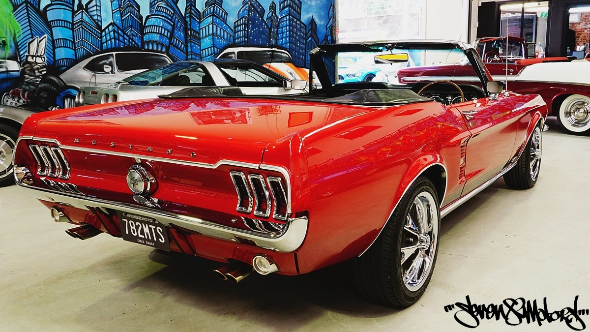 2018 Mustang Interior >> SOLD! 1967 RHD Ford Mustang Convertible - SEVEN82MOTORS