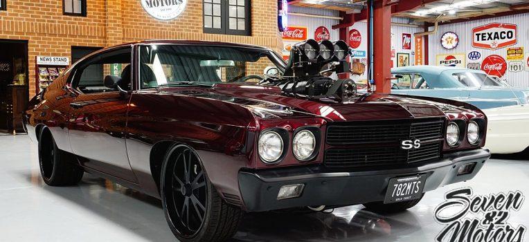 1970 Blown Chevy Chevelle