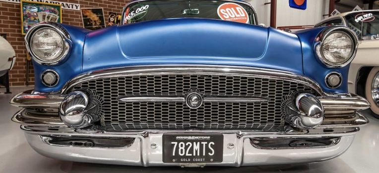 1955 Buick front end